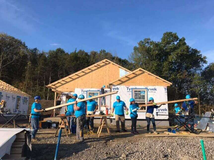 2019 Carter Work Project Nashville American Heating And Cooling Volunteers