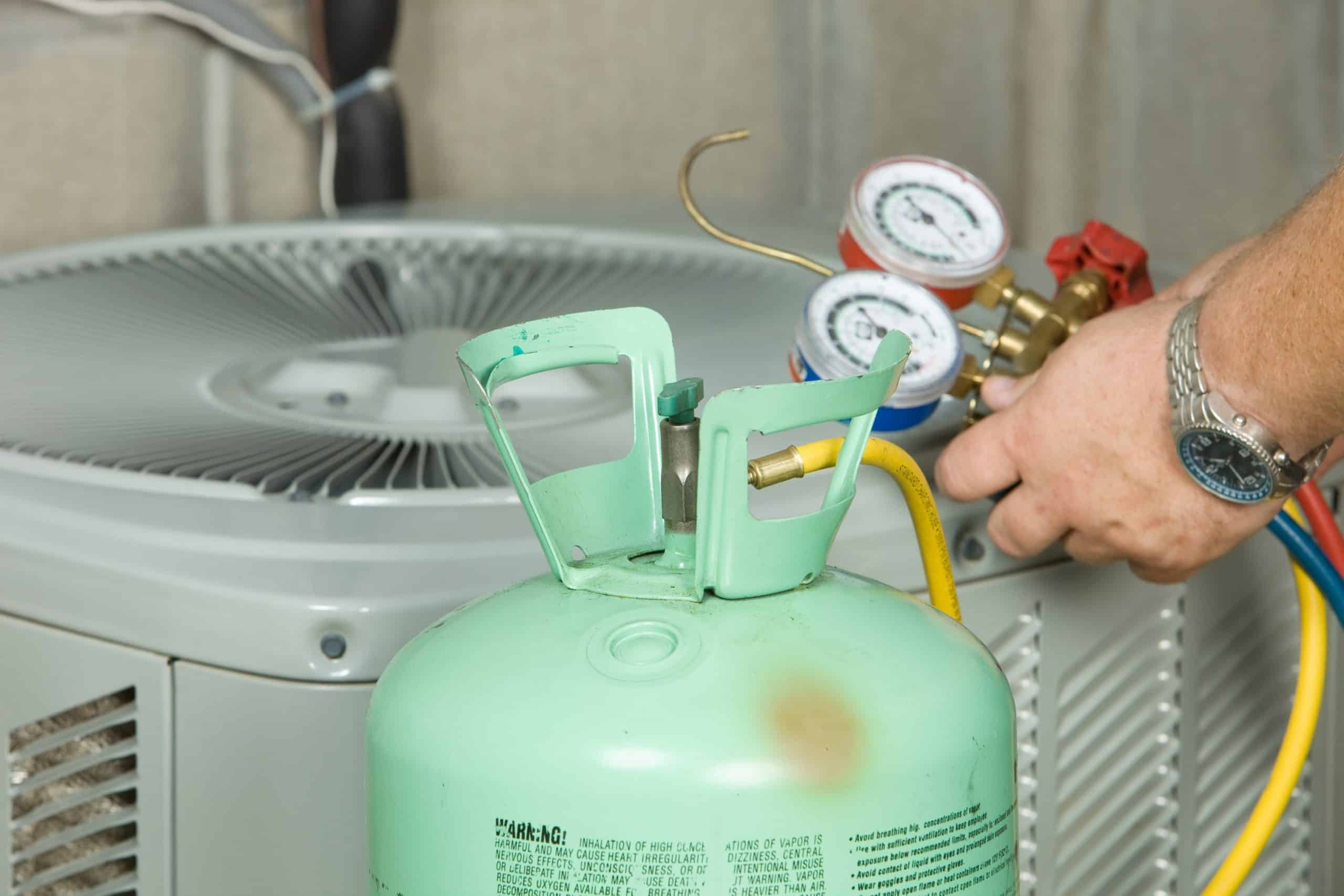"""Featured image for """"How often does an a/c unit need refrigerant?"""""""